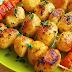 Bakina kuhinja - nije roštilj samo sa mesom,  ništa sladje nismo jeli