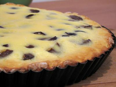 Ciasto śliwkowe z twarogiem