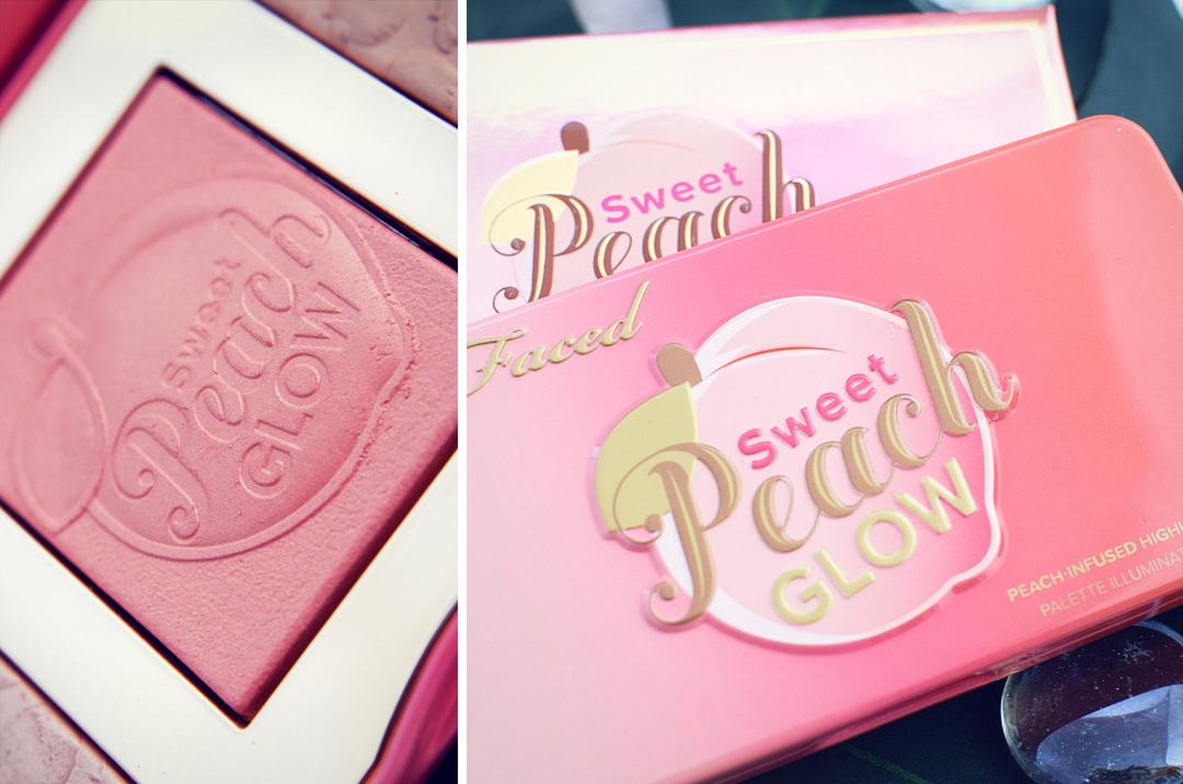 Erfahrung und Test Too Face Sweet Peach Glow Palette