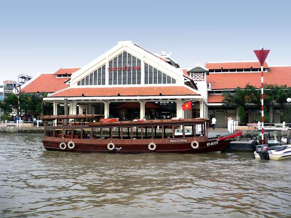 El Embarcadero de Can Tho sur de Vietnam