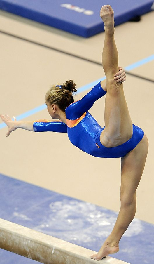 Beautiful Women Gymnasts