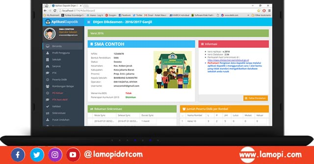 Download Aplikasi Dapodik Versi 2021 Dan Panduan Lengkapnya Lamopi