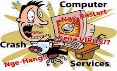 Penyebab dan Memperbaiki Komputer Sering Restart