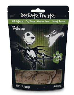 Team Treatz Disney DogEatz Nightmare Before Christmas Rawhide-Free Dental Dog Treats