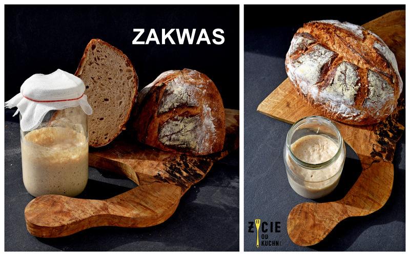 zytni zakwas, zytni zakwas na chleb, jak zrobic zakwas na chleb, jak zrobic zakwas, domowy chleb, chleb na zakwasie, zycie od kuchni