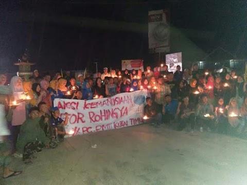 Aksi Doa Bersama & Lilin Perdamain For Rohingya