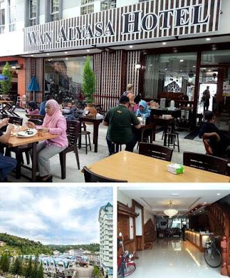 Hotel Wan Alyasa cameron highland suasana