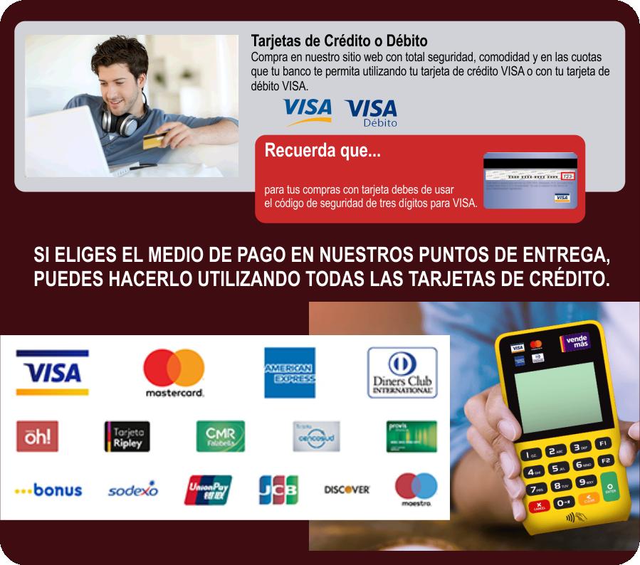 Pago con Tarjeta Crédito