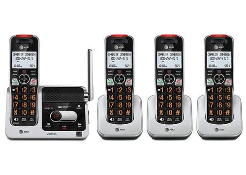 AT&T BL102-4 DECT 6.0 4-Handset Cordless Phone