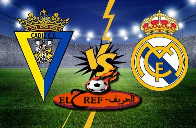 مباراة ريال مدريد وقادش في الدوري الاسباني بتاريخ 17-10-2020