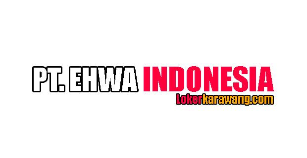 Lowongan Kerja Operator PT. Ehwa Indonesia Karawang
