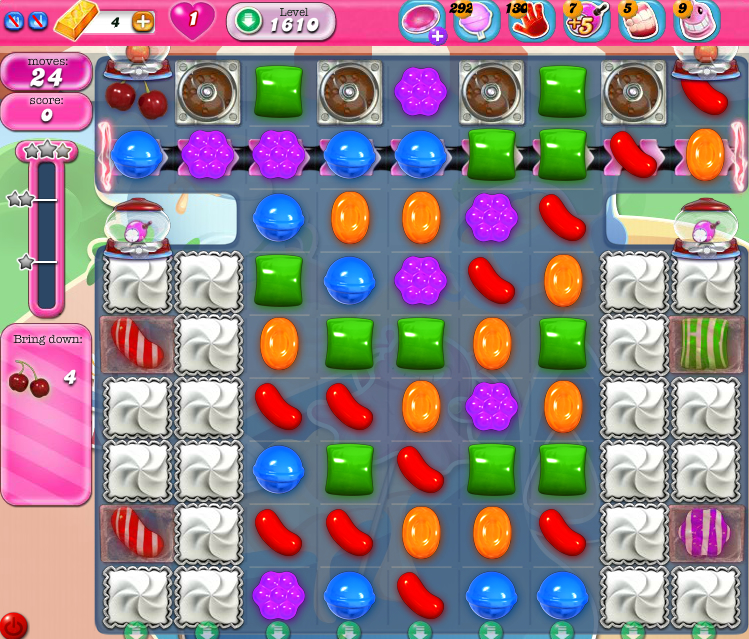 Candy Crush Saga 1610
