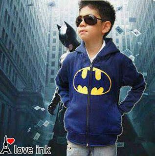 Jaket Anak Batman Navy - Harga Saudara