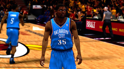 NBA 2K13 Kevin Durant Cyberface Patch