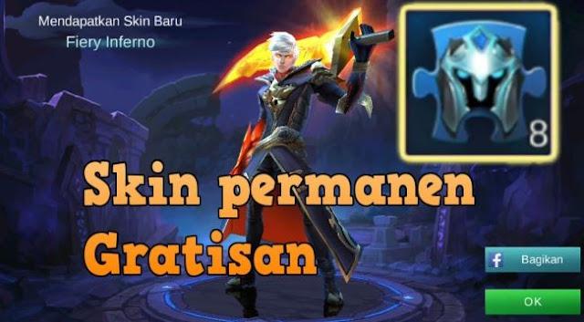 cara mendapatkan skin permanen gratis Mobile Legends