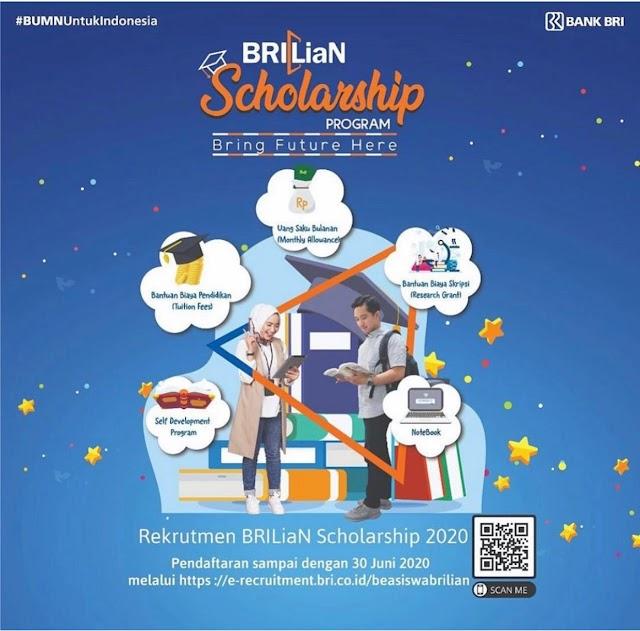 Informasi Beasiswa BRILiaN 2020