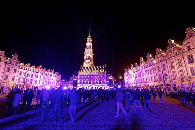 French sound and light show in remembrance of World War I