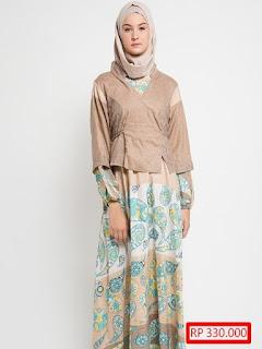 trend baju pesta model batik