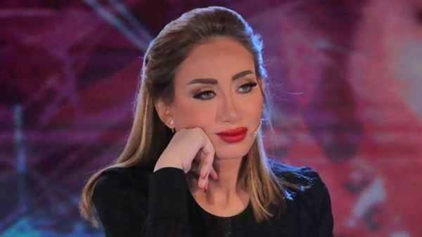 ريهام سعيد تعاني من ذلة اللسان
