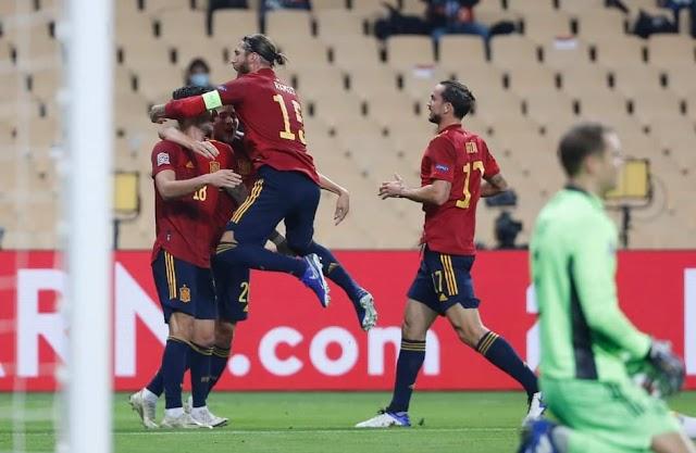 "Nations League: Εξάρα η Ισπανία την Γερμανία, σπουδαίο ""διπλό"""" για την Πορτογαλία"