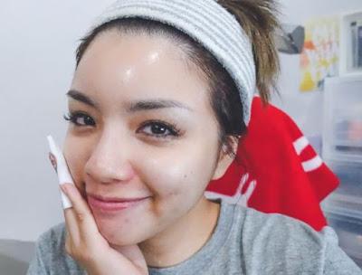 cara membersihkan wajah setelah make up