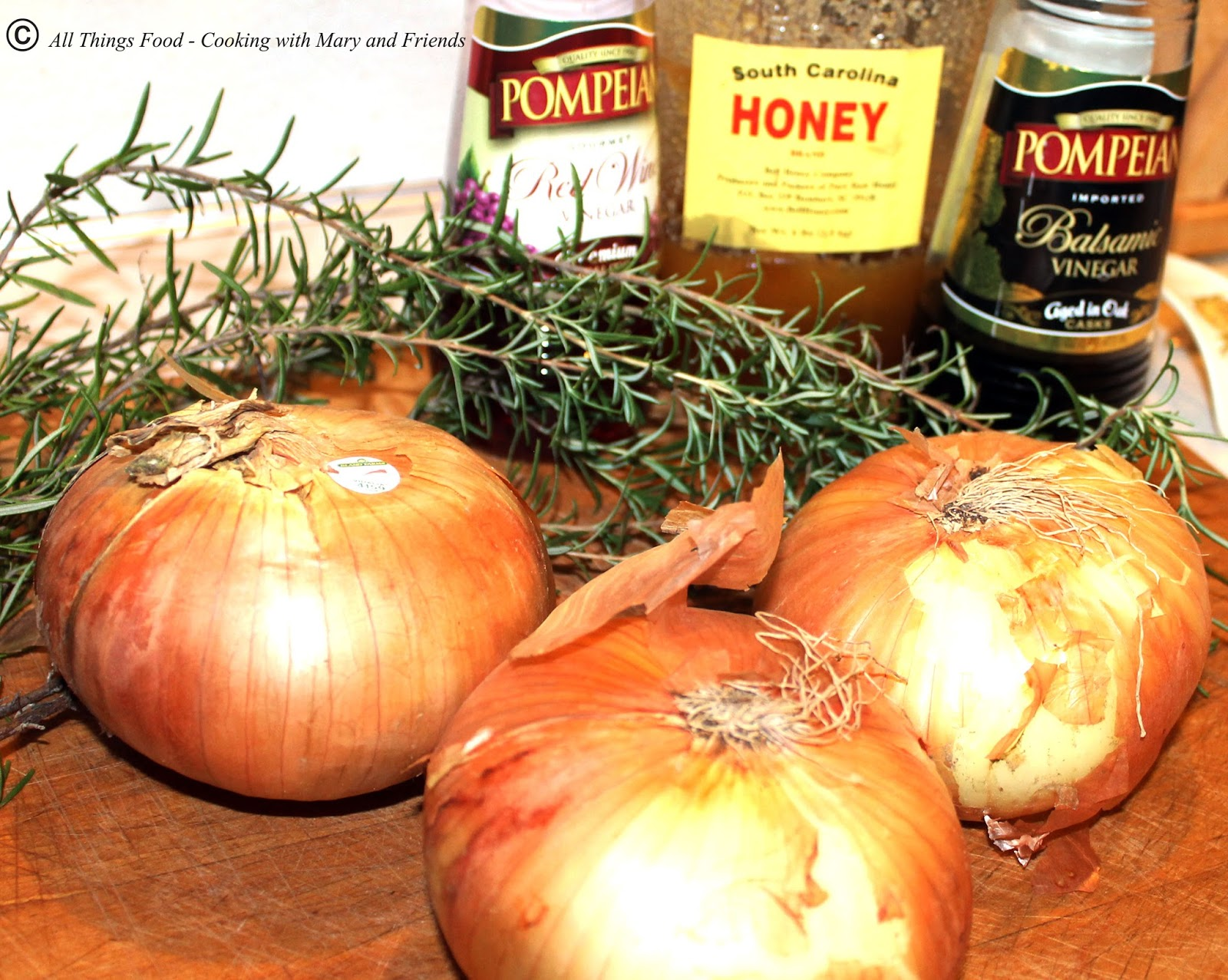 Cooking With Mary and Friends: Vidalia Onion and Rosemary ...