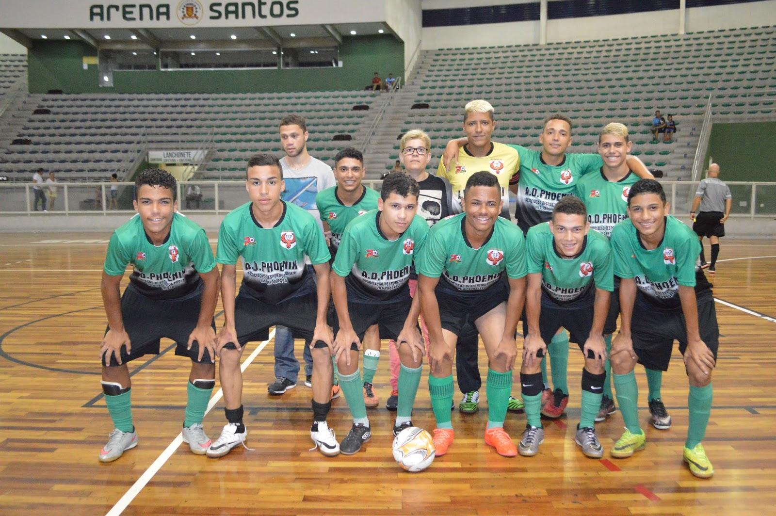 A equipe sub 18 da A.D. Phoenix Vila Progresso (Fotos  Richard Durante Jr) fd8cc6dda604b