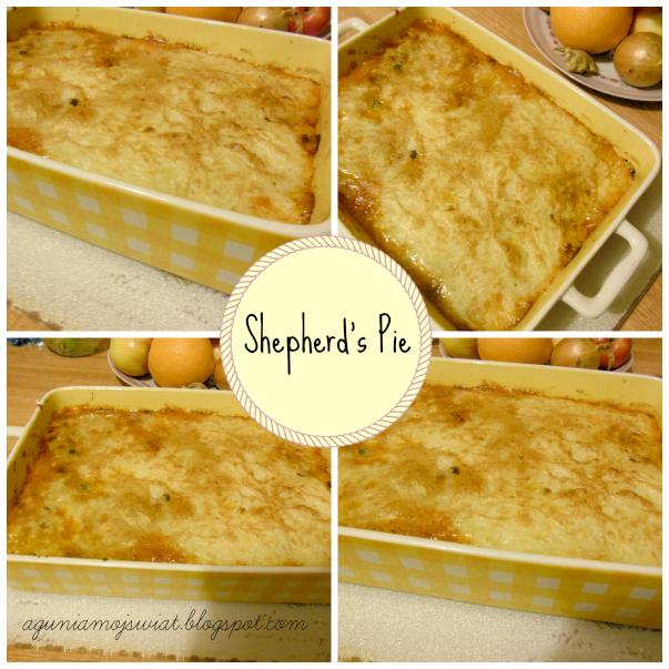Zapiekanka pasterska (Shepherd's Pie)
