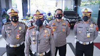 Ditlantas Polda Jateng Akan Melakukan Penguncian Di Setiap Perbatasan Jawa Tengah Dan Kabupaten/Kota