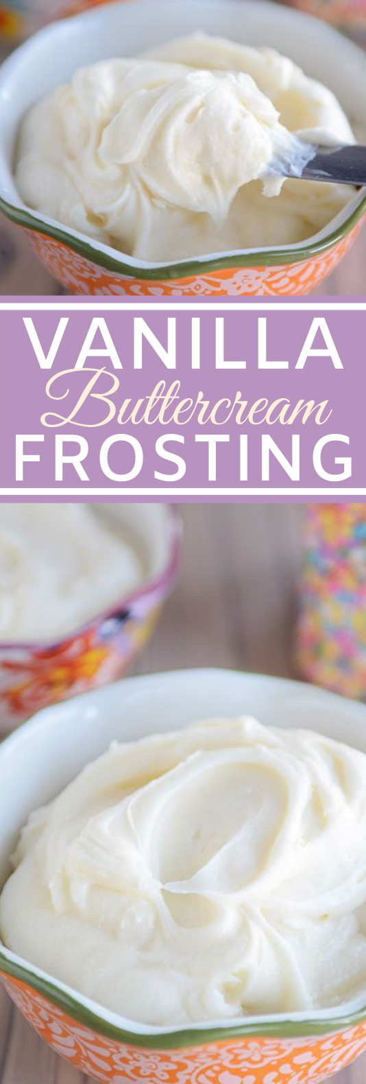 The Best Vanilla Buttercream Frosting #cookies #cake #frosting #desserts #baking