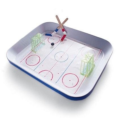 Tabletop Ice Hockey