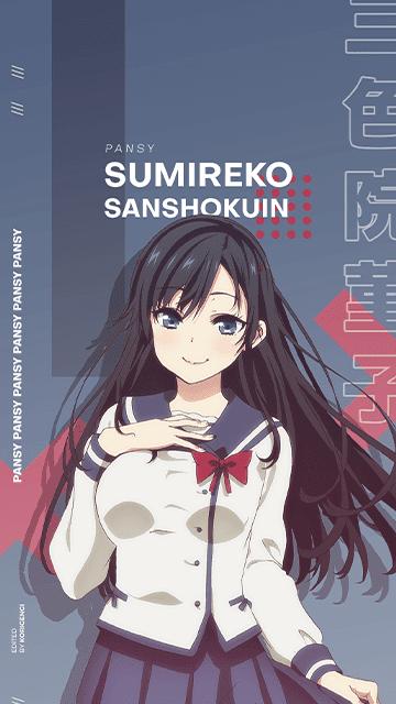 Sumireko 'Pansy' Sanshokuin - Oresuki Wallpaper