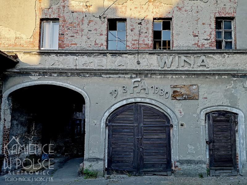 Gostyń. Fabryka wina. Feliks Adamkiewicz.