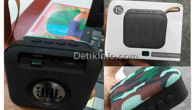 Menghubungkan Speaker Mini T5 JBL Bluetooth ke HP Android