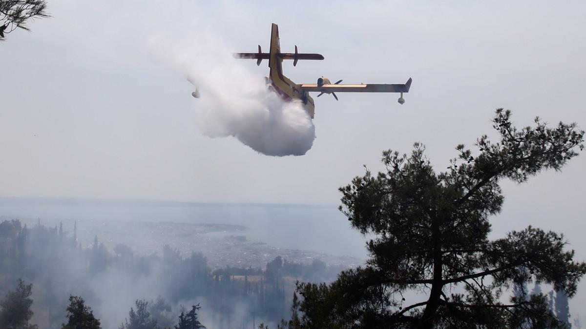 Πυροσβέστες και εναέρια μέσα από 7 χώρες στην Ελλάδα