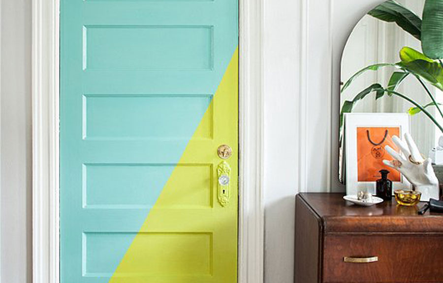 ¡A todo color! Ideas para decorar paredes con color