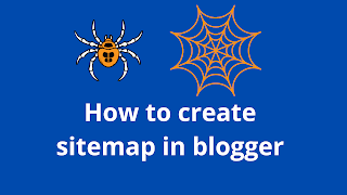 How to create an XML sitemap for blogger