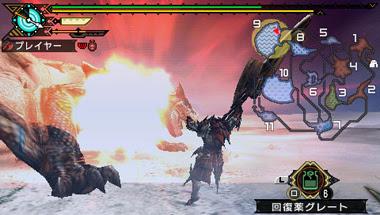 Game PSP RPG Monster Hunter Portable