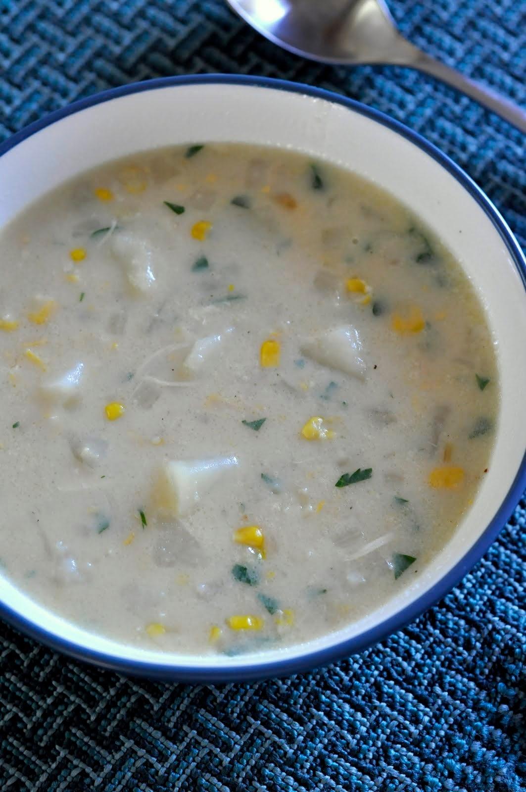Cream-Style Corn Chowder | Recipe on Taste As You Go