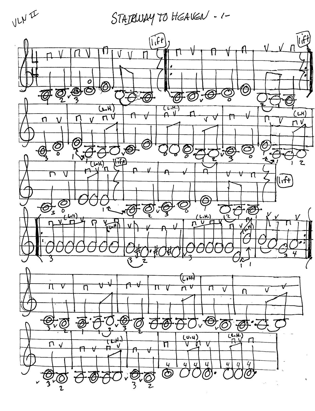 Miss Jacobson's Music: STAIRWAY TO HEAVEN WORKSHEETS