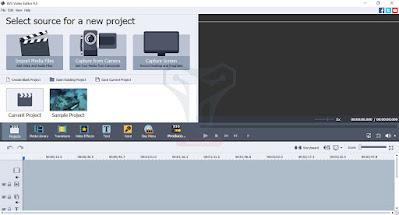 برنامج AVS Video Editor