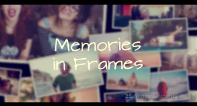 Projects – MotionElements – Memories in Frames – 13688209 [AEP]