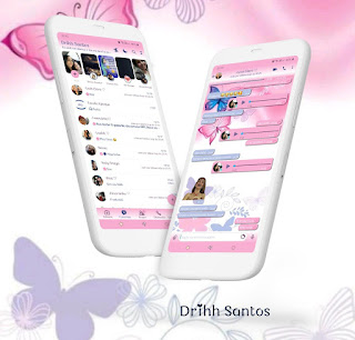 Butterfly Colorful Theme For YOWhatsApp & Fouad WhatsApp By Driih Santos