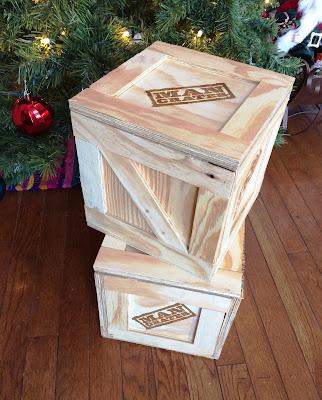 man crates crat size