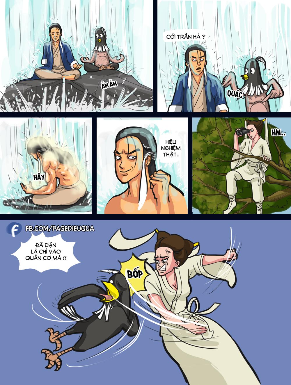 Truyện Điêu Quá #13: Luyện công dưới suối