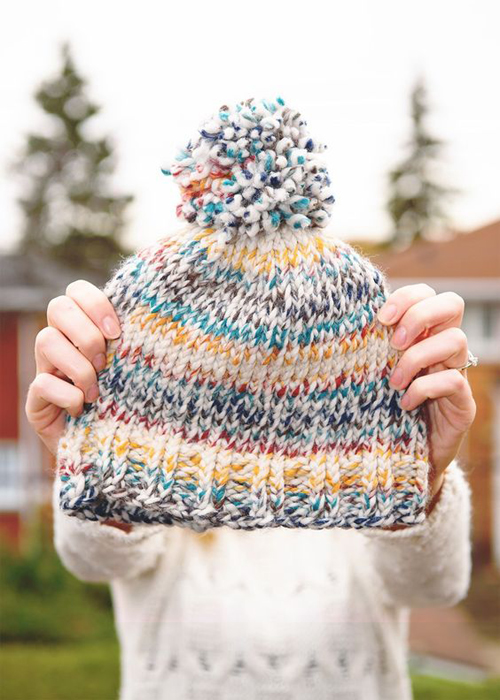 Easy Knit Toque with Free Pattern