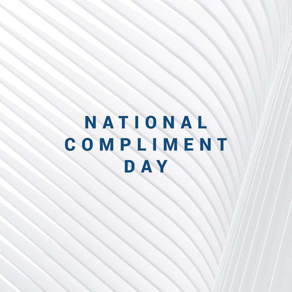 National Compliment Day Wishes