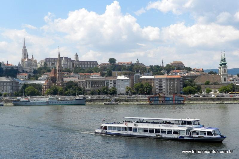 Rio Danúbio Budapeste Hungria