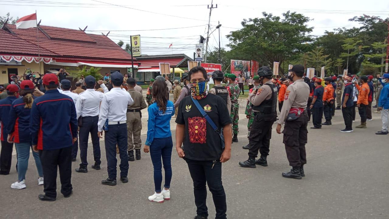 "Pasukan Borneo Bersatu ""Banama"" Murung Raya Siap Bersinergi Dalam Rangka Penanganan dan Pencegahan Covid-19"