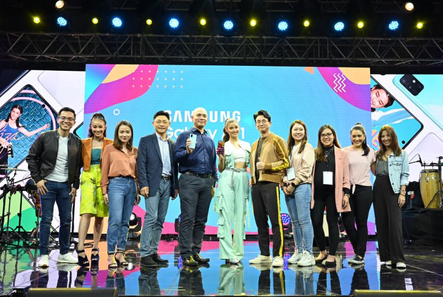 Samsung launches Galaxy A71, Note10 Lite in AWESOME concert with Liza Soberano
